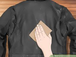 how to paint a leather jacket 10 steps with pictures wikihow
