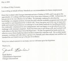 Letter Of Recommendation Customer Service Letters Of Recommendation Recommendation From Customer Service
