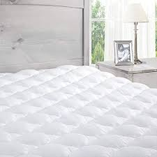 Pillowtop Mattress Pad With Fitted Skirt Extra Plush