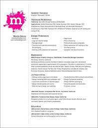 Resume Template Graphic Designer – Baycabling.info