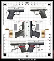 Gun Size Comparison Chart Gun Size Comparison Chart 2019