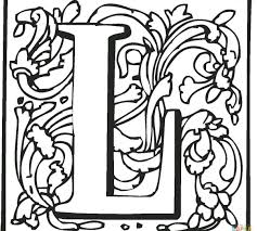 Alphabet Coloring Pages Letter L Is For Lion Learning Page Kids Cheap Coloring Books L