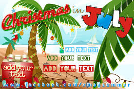 Beach Flyer Christmas In July Beach Event Flyer Poster Template Postermywall