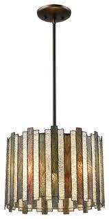 elk lineage 3 light chandelier oil rubbed bronze