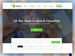 Adsiter Classified Ads Psd Template