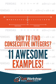 Integers Examples What Are Consecutive Integers Simply Explained With 11 Examples