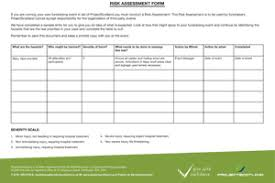 Risk Assessment Form - Projectscotland