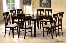 elegant brilliant dining table and chairs set with fancy beautiful on chair sets