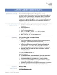 Telephone Sales Representative Resume Samples Sales Representative Resume Samples Template And Tips