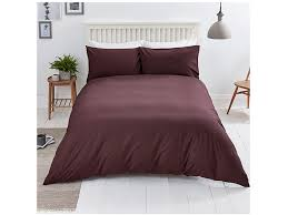 in a perfect autumnal hue this berry coloured bedding set from sainsbury s is a simple way to get your home ready for the new season