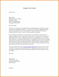 Cover Letter For Admin Clerk Resume Cover Letter For Administrative Clerical With Examples