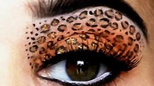 leopard eyes hd makeup tutorial i leopard eyeshadow red lips leopard print makeup tutorial video dailymotion