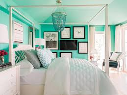 Bedroom ideas for teenage girls teal and yellow Grey Shop This Look Hgtvcom 50 Bedroom Decorating Ideas For Teen Girls Hgtv