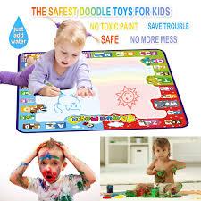 larger image 2018 Spring/Summer NEGPOGAI Water Doodle Mat Kids Toys Large Aqua