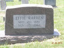 Effie Miller Warren (1881-1962) - Find A Grave Memorial
