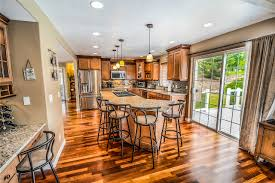 well polished hardwood floors have a natural shine without being slippery