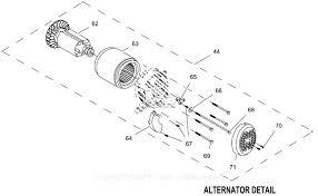generac 0059390 gp5500 parts diagrams