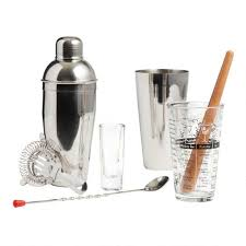 Be the first to write a review. Mixologist Home Bar Tool 9 Piece Set World Market