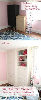Bedroom Built In Closets Remodelaholic Built In Closet Hack