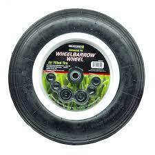 Wheelbarrow Tire Size Chart Maxpower Universal Wheelbarrow Wheel