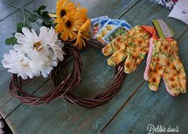 dollar tree spring wreaths