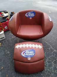 tailgate leather football chair cooler ottoman sports outdoors in tampa fl offerup
