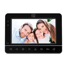<b>Видеодомофон Space Technology ST-M100/7</b> (S) Черный ...