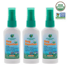 Greenerways Organic Insect Repellent Travel Size Premium Usda