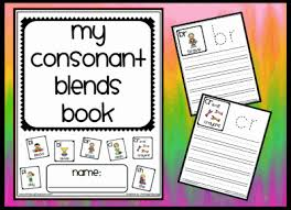 Consonant Blend Chart Printable Communication Arts Reading Blends Common Core State