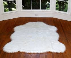 faux alaskan polar bear rug white 4 10x6 8 large contemporary rugs by hollywood love rugs