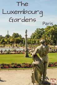 the luxembourg gardens paris france