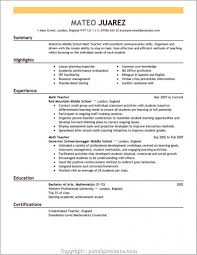 Executive Professional Resume Builder Free Printable Professional