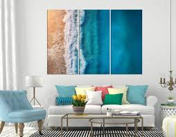 australia beach coastal wall art sets
