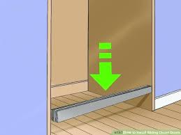 stanley mirrored sliding closet. How To Install Sliding Closet Doors Steps With Pictures Image Titled Step 8 Stanley Mirrored Installation