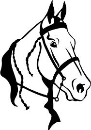 quarter horse head clip art. Plain Horse Quarter Horse Head Clipart 1 And Clip Art A
