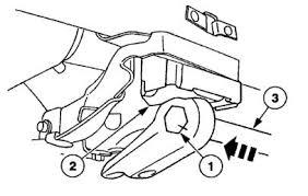 torsion key adjustment bolt. b) tighten the torsion bar tool until adjuster lifts off adjustment bolt. key bolt u