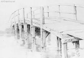 architectural drawings of bridges.  Bridges Bridge Drawn In Perspective Free Perspective Book To Architectural Drawings Of Bridges