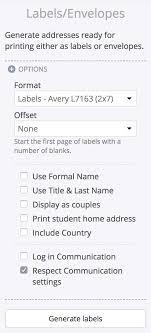 Print Address Labels Printing Address Labels Through Churchsuite Churchsuite