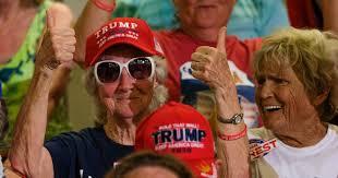 As Trump Struggles with Seniors, His Campaign Mocks Biden's Age – Mother  Jones