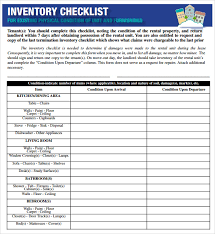 17 Sample Inventory Checklist Templates Appealing Excel Audit Tool