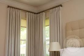 Brilliant Corner Window Curtain Rod Arlene Designs Curtain Rods For Corner  Windows Designs ...