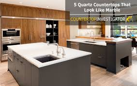 Small Picture 5 Quartz Countertops That Look Like Marble
