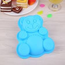 Yarssir 6 cavity <b>irregular shape</b> foodgrade <b>silicone</b> cake mold ...