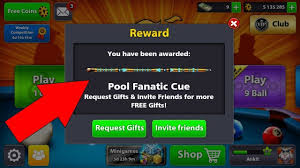 Light Cue 8 Ball Pool 8 Ball Pool How To Get Free Fanatic Cue 30m Coins Blue Light Giveaway