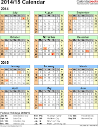 Printable Day Calendar 2015 2014 2015 Printable Calendar Lacse Info