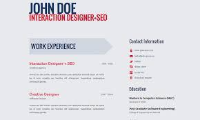 Free Professional HTML5 CV/Resume Template