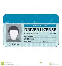 License Of Stock Driver 43535699 - Security Illustration Illustration