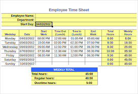 timesheetcalculator 11 hourly timesheet calculators 11 free sample example format