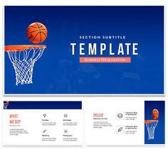 Basketball Powerpoint Template John Fitzmaurice Johnnyrocco35 On Pinterest