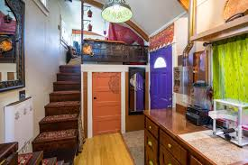 tiny house movement. the lilypad tiny house in portland features two loft spaces and a lot of personality movement u